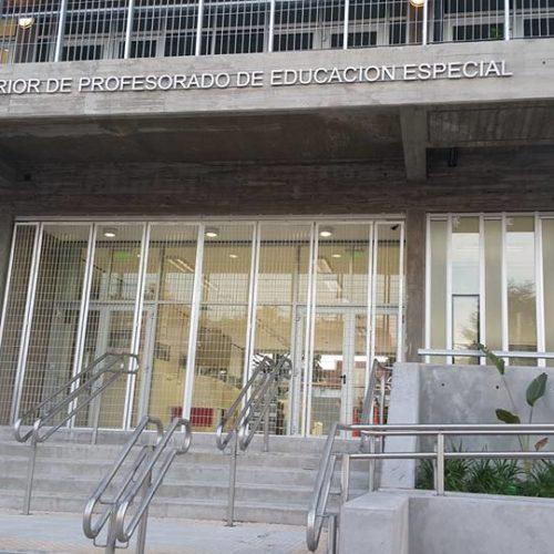 imagen de entrada a la nueva sede del ISPEE